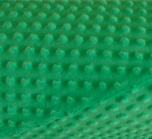 minky bąbelki kolor zielony